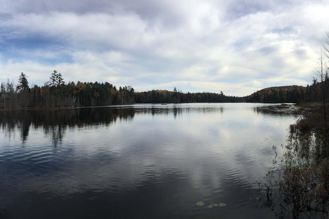 Vue du Lac Piché, Sainte-Marguerite-du-Lac-Masson