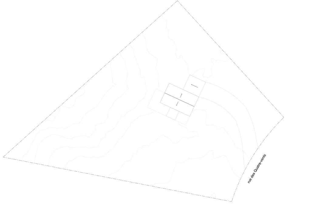 Plan du site du projet Le Colibri